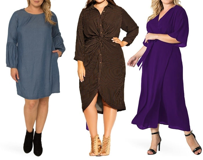 Plus size dresses to hide your belly | 40plusstyle.com