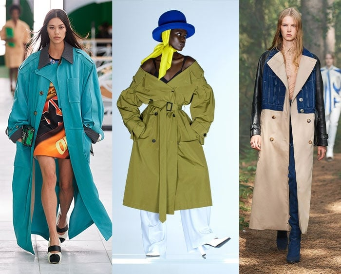 Trench coats in the 2021 fashion trends | 40plusstyle.com