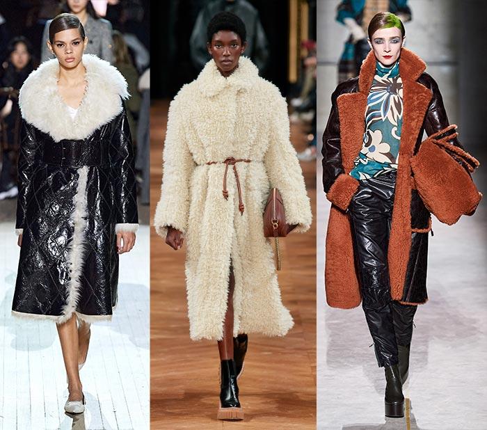 Fall fashion for women - Shearling | 40plusstyle.com