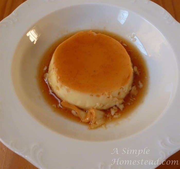 A Simple Homestead - Caramel Custard