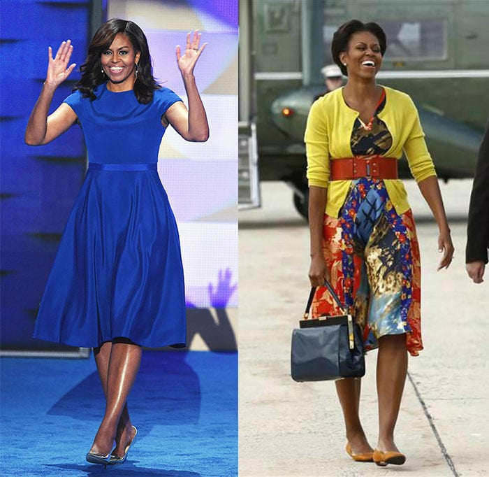 Michelle Obama retro-style outfits   40plusstyle.com