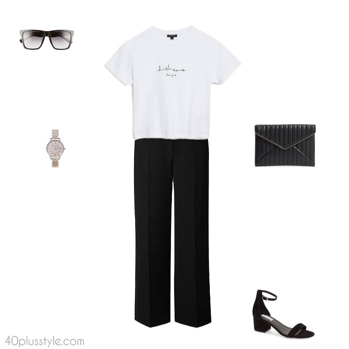 Chic easy looks - How to dress like Victoria Beckham   40plusstyle.com