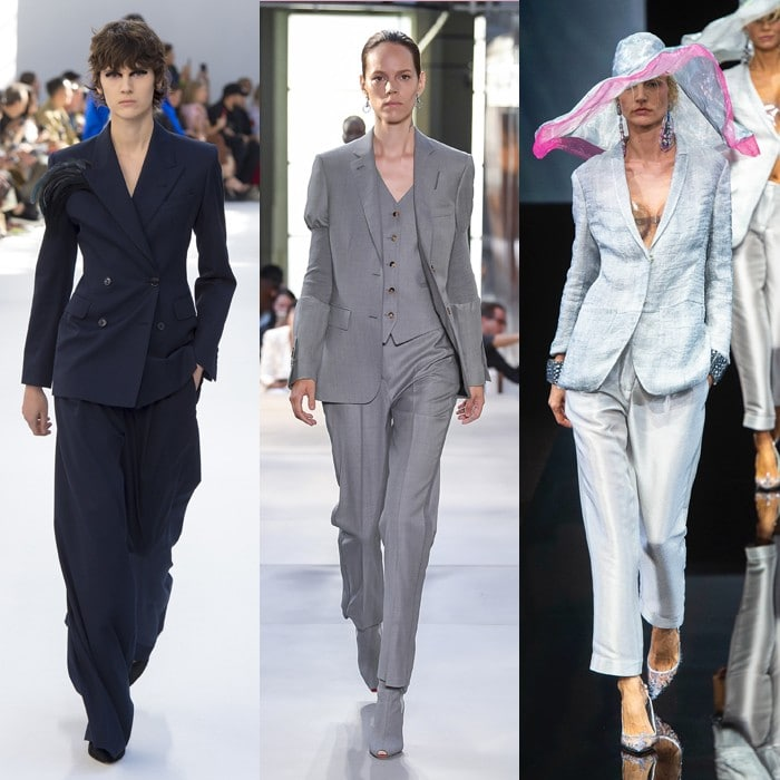 The best 12 trends for spring and summer 2019: Pant suits for women over 40   40plusstyle