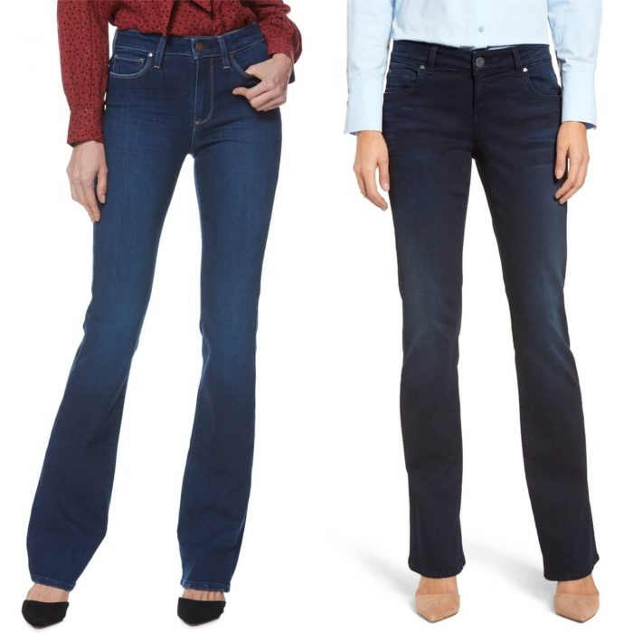 the best jeans for the pear body type | 40plusstyle.com