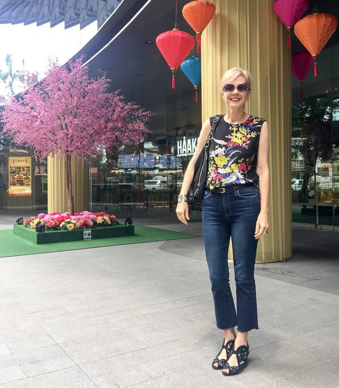 An Unexpected Brand Crush: Diane Von Furstenberg (DVF) | 40plusstyle.com