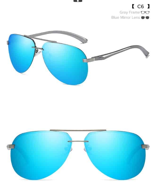 fake sunglasses replica Shades UNIEOWFA Chanel aviator glasses knockoff 5