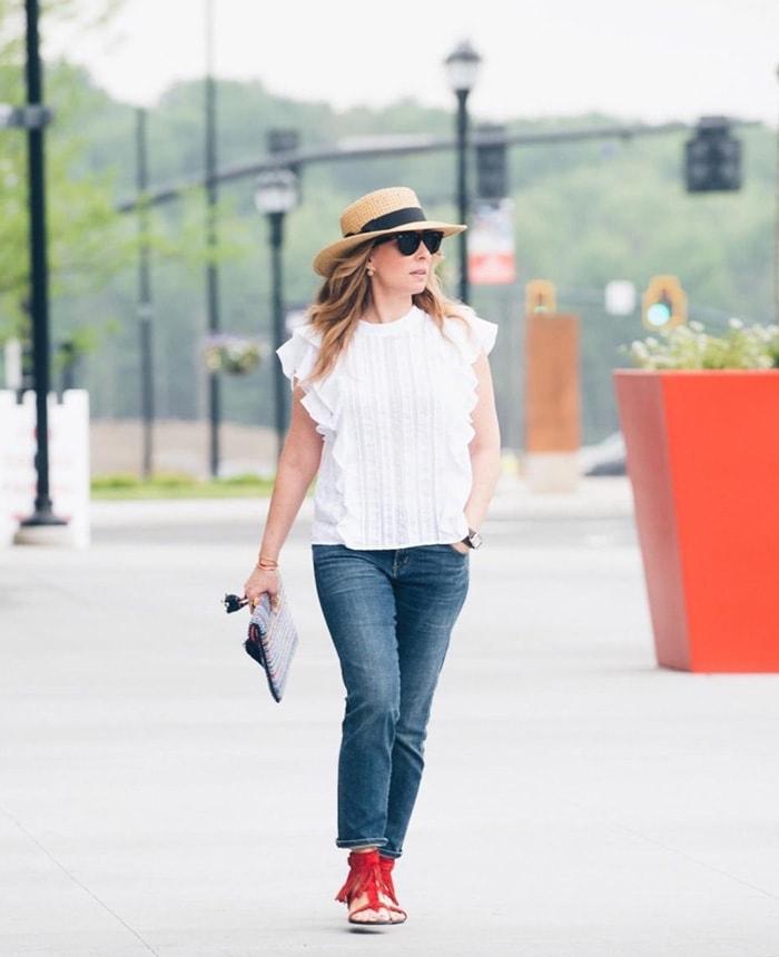 Essential fashion accessory: hat   40plusstyle.com