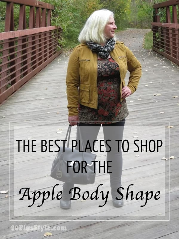 Fall and Winter outfit ideas for the apple shape body   40plusstyle.com