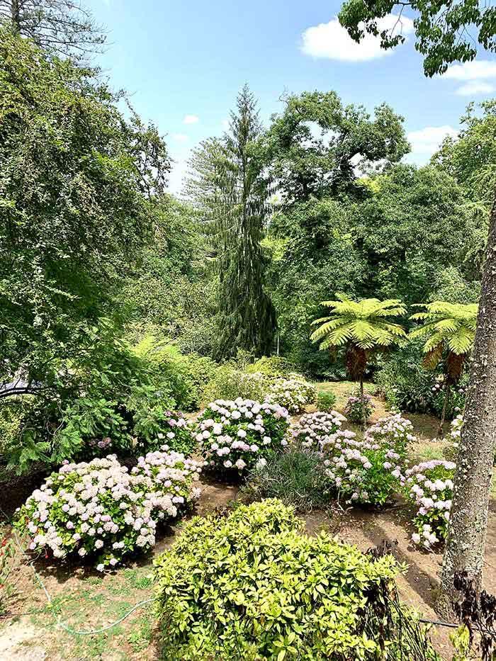 jardines del palacio Quinta da Regaleira Sintra |  40plusstyle.com