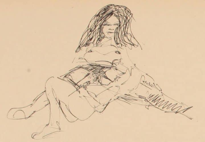 Erotic Lithographs by John Lennon in Avant-Garde Magazine - @Flashback Artes & contextos avantgarde11unse orig 0025 cu 1 1280x888 1