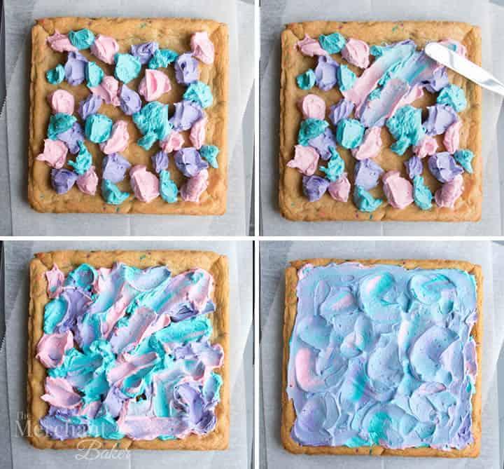 Magnificent Mermaid Birthday Sugar Cookie Bars The Merchant Baker Funny Birthday Cards Online Drosicarndamsfinfo