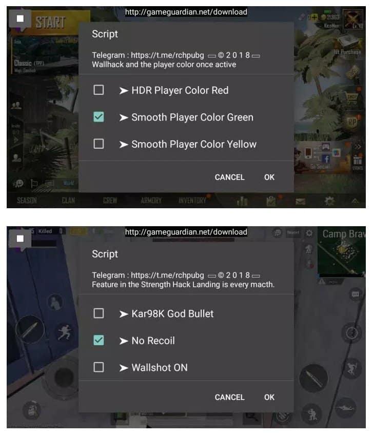 Cara Cheat Game PUBG Mobile di Android Tanpa Root 4