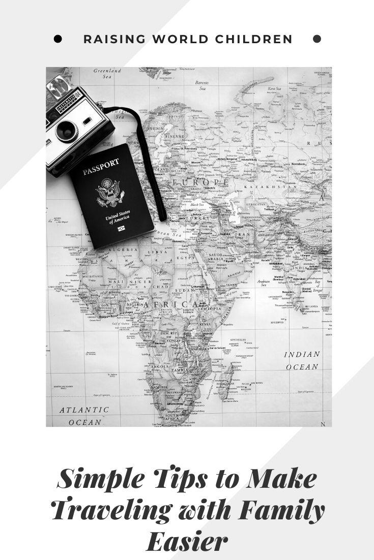easy tips traveling family