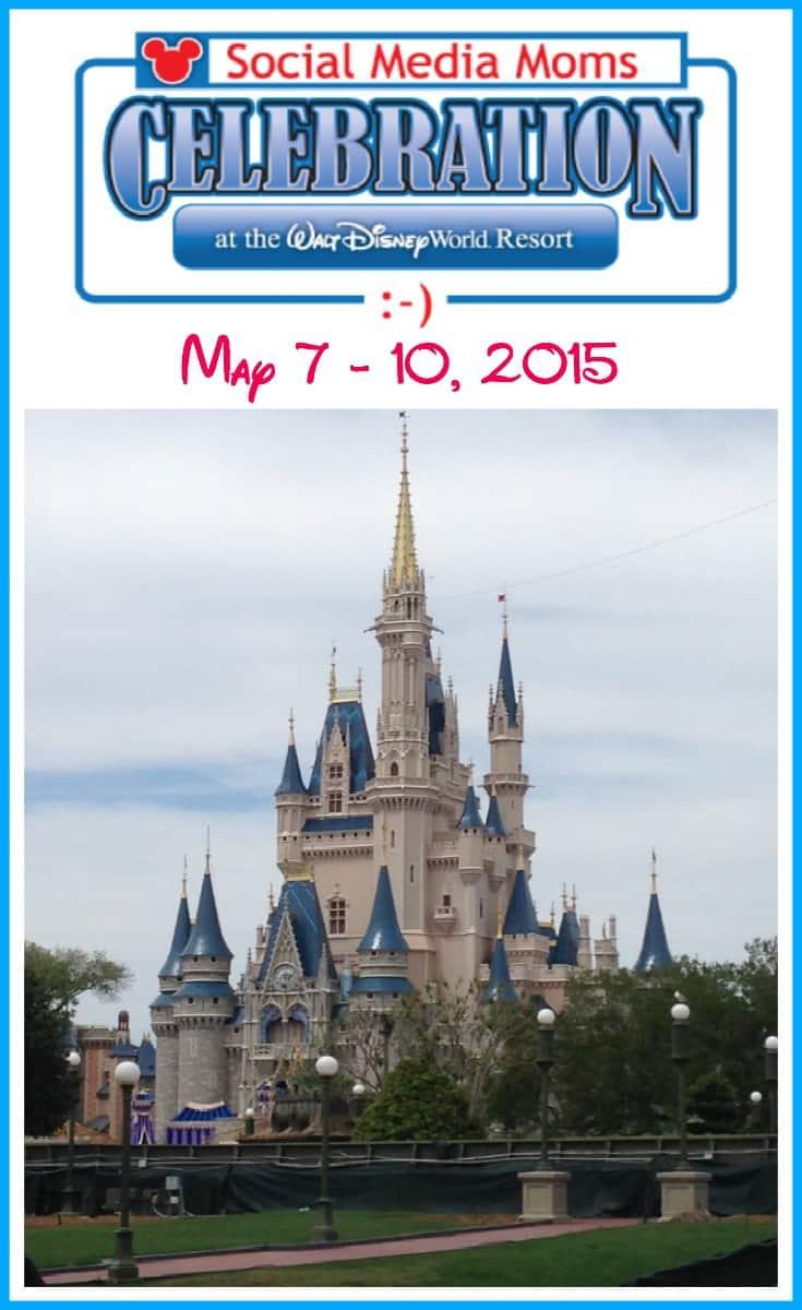 Disney Social Media Moms Celebration at the Walt Disney World Resort - May 7 - 10, 2015 #DisneySMMC #DisneySMMoms