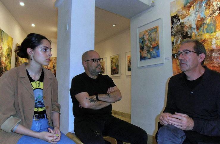 Laura Carvalho, Rui Freitas e Juan Sanches