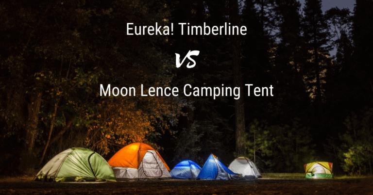 Eureka Timberline vs Moon Lence Tent