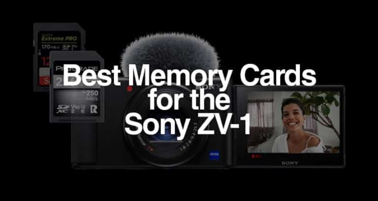 best memory cards for the ZV-1