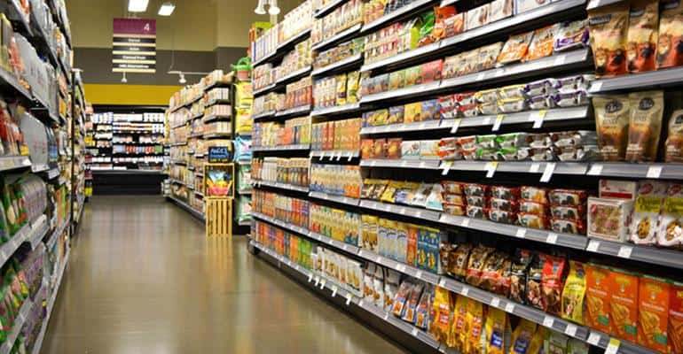 grocery aisle - grocery departments