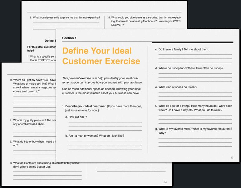Greta Rose Define Your Ideal Customer Exercise