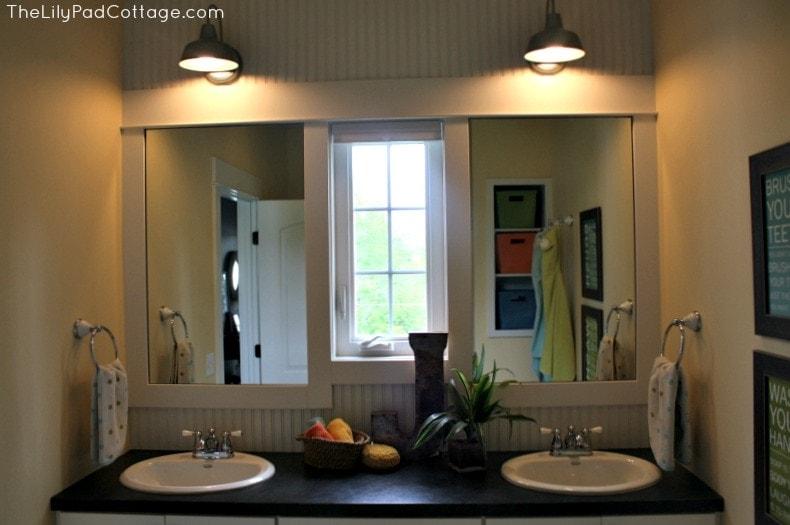Kids Bathroom ideas www.thelilypadcottage.com