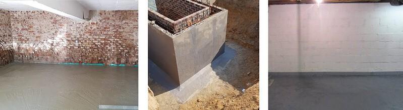 Basement Waterproofing Projects