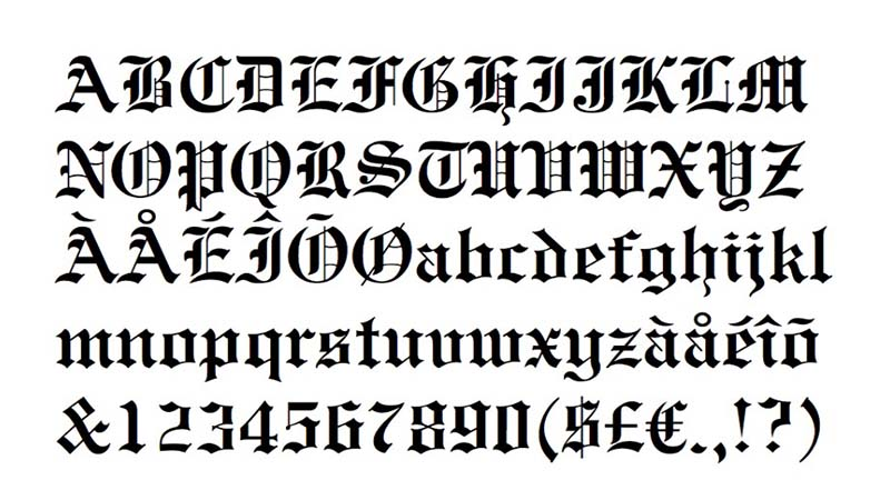 Engravers Old English Font Download - All Your Fonts