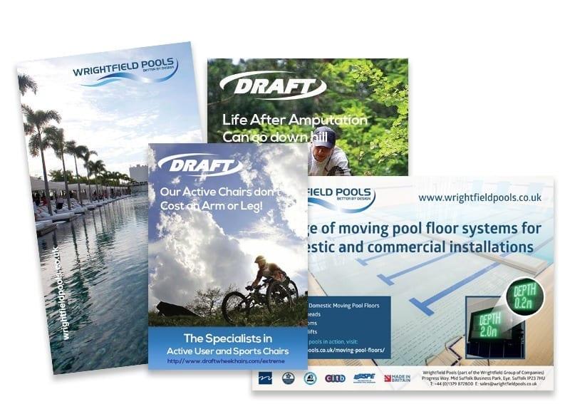 adverts Blue Dolphin business development