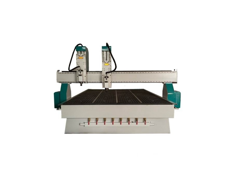 B2030IZ-2 heads Two Spindles 1325 1530 CNC Router Machines