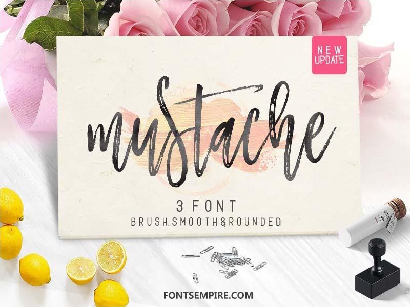 Mustache Script Font Free Download - Fonts Empire