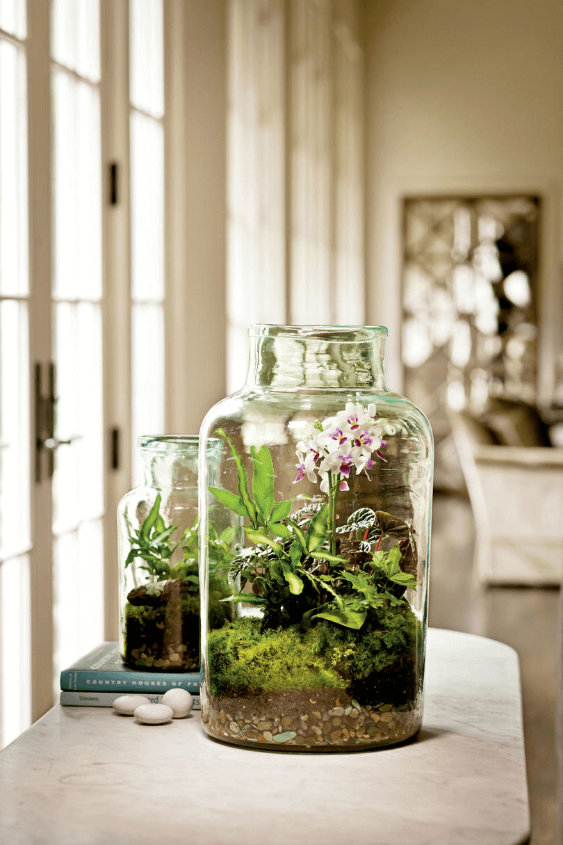 HOW ABOUT OUTDOOR TERRARIUM FOR PORCH DECORATING IDEAS