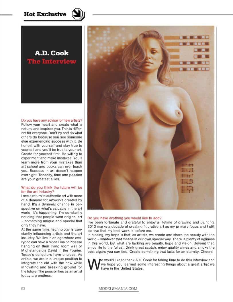 ModelsMania Magazine, September 2012 - Page 93