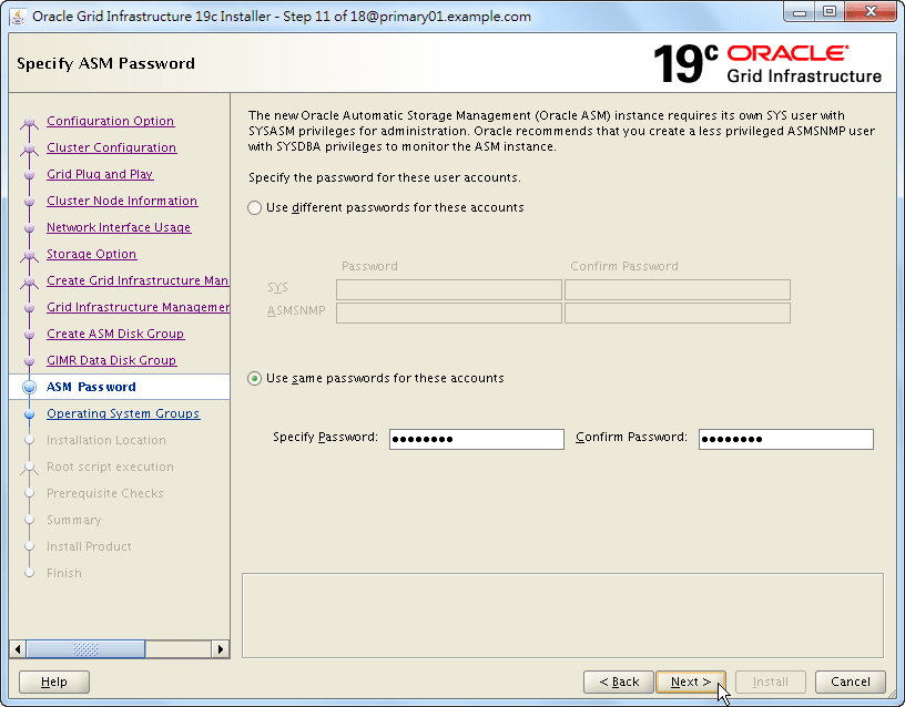 Oracle 19c Grid Infrastructure Installation - 11