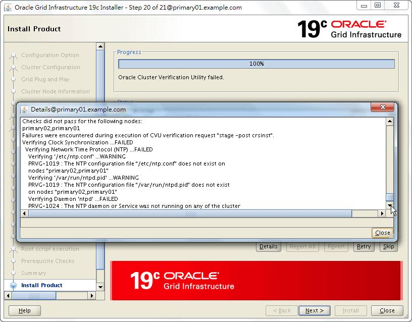 Oracle 19c Grid Infrastructure Installation - 20 - 03