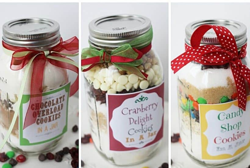 Cookies in a Jar – Mason Jar Gift Idea!
