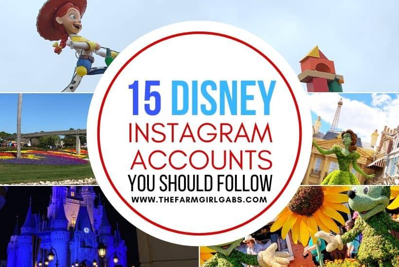 Best Instagram Disney Accounts To Follow