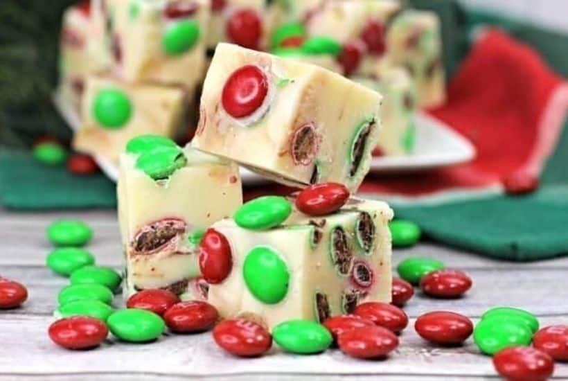 3-Ingredient Holiday Fudge