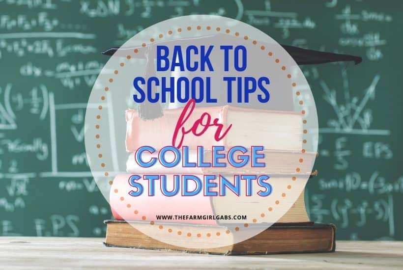 Back to School Tips For College Students