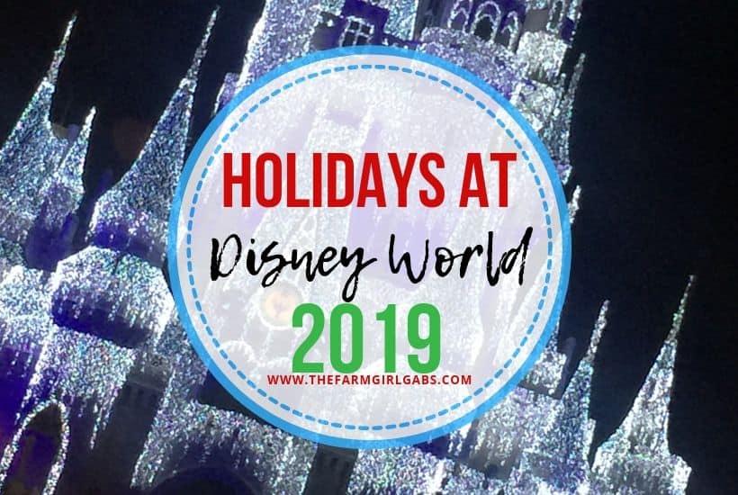 2019 Christmas Season Holiday Magic at Walt Disney World