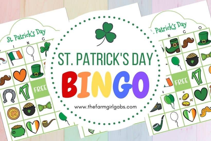 Free Printable St. Patrick's Day Bingo