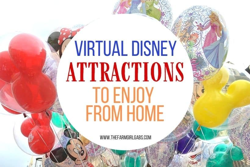Virtual Disney Attractions You Can Watch From Home