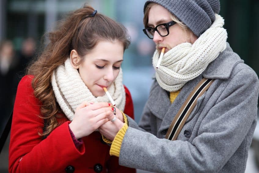 Tobacco smoking - Dyspnea