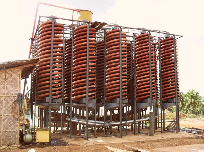 spiral chute for sale