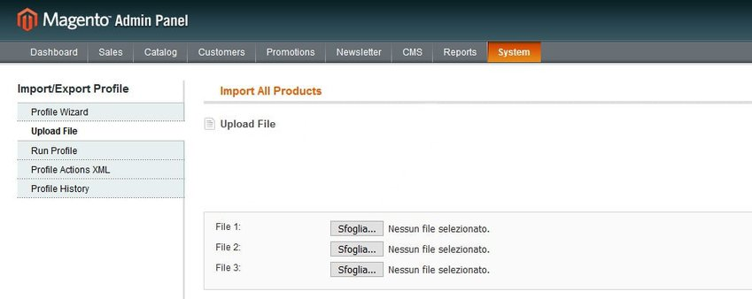 Importare prodotti in Magento tramite CSV- IMPRIMIS e-commerce