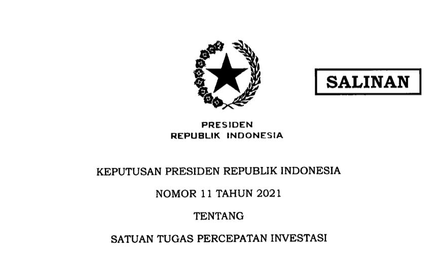 Keppres 11 2021
