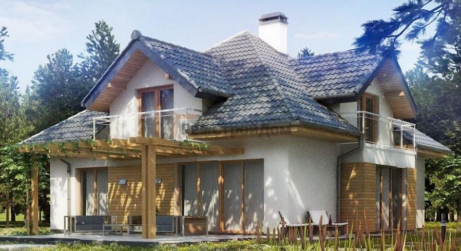Проект дома из газобетонных блоков 238 м2