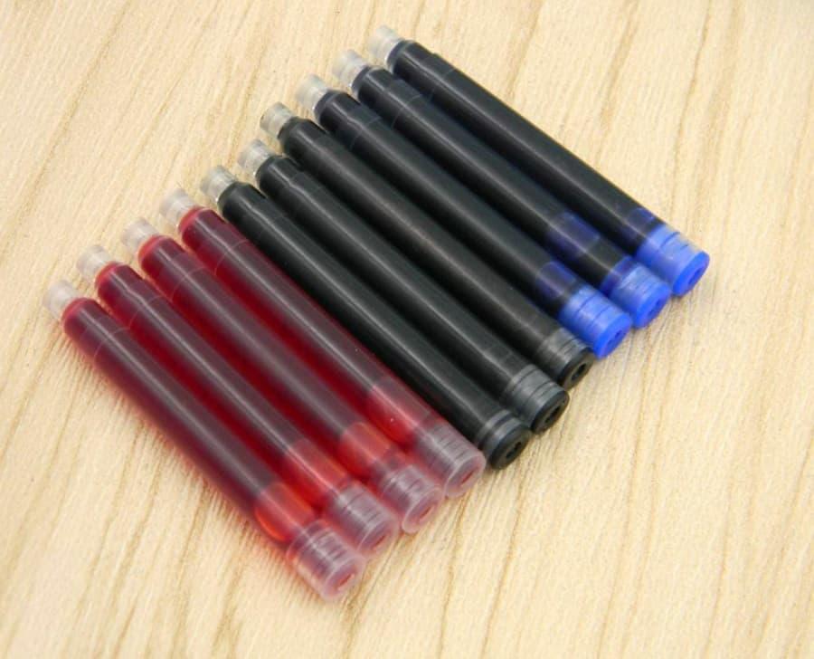 AliExpress MontBlanc Fountain Pen Replica Clone Alternative Cheap Ink 3 26mm Red Black Blue