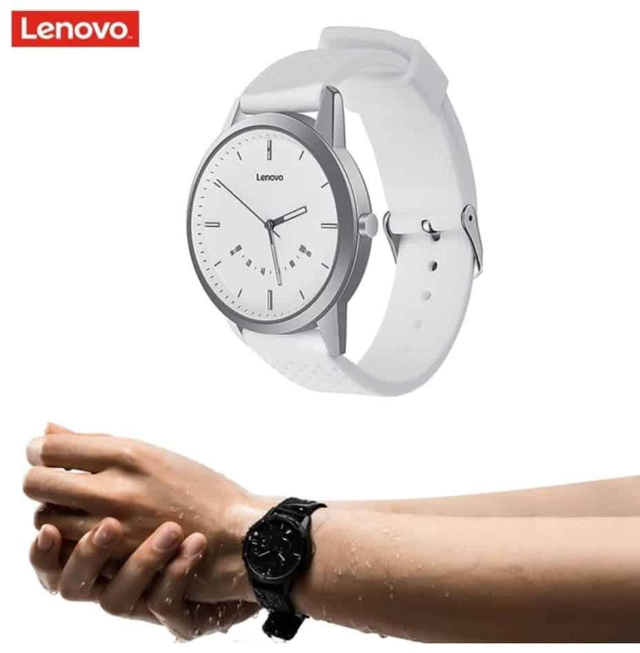 smartwatch replica apple watch clone Lenovo Watch 1 Classic style for Men Clean Sleek Look
