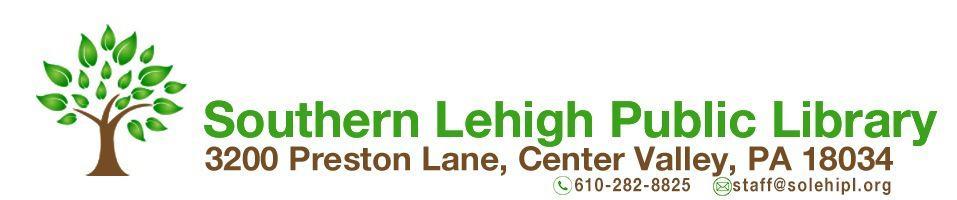 Southern Lehigh Public Library Logo