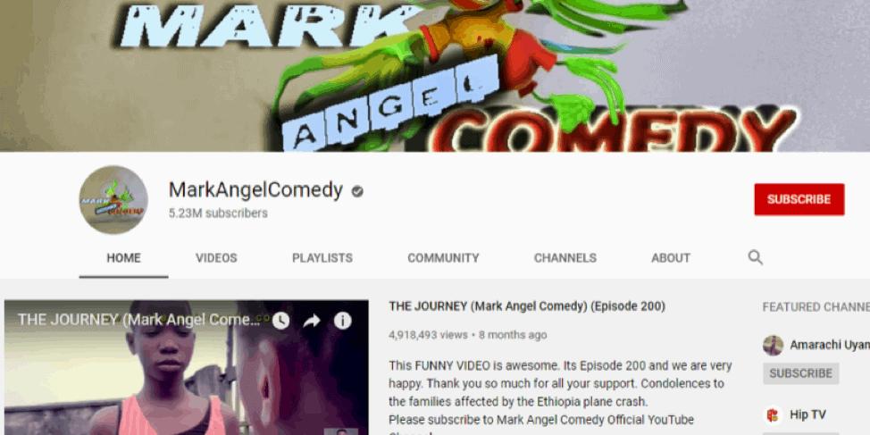 MarkAngel-Youtube