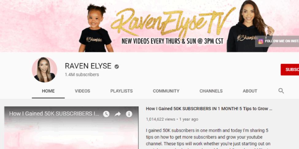 Cuervo Elyse-Youtube